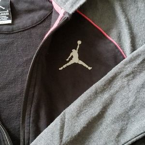 Jordan Shirts & Tops - BOYS JORDAN DRI-FIT HOODED ZIP UP JACKET